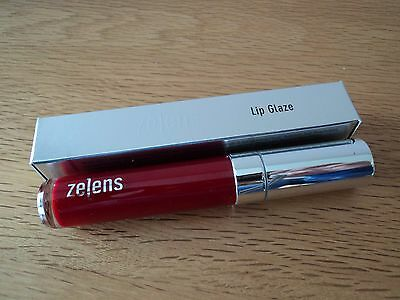 Zelens Lip Glaze 8Ml In Rouge Rrp £29 Collagen Building Treatment