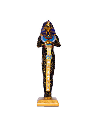 Ancient Egyptian King tut sarcophagus coffin Statue