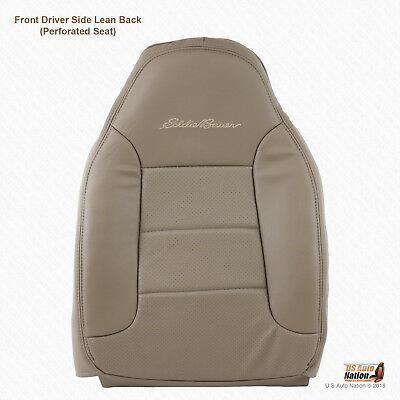 1995 1996 Ford Bronco Eddie Bauer Front Driver Top Synth Leather Cover Color Tan