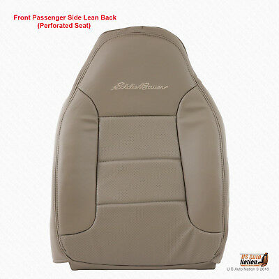 1992 - 1996 Ford Bronco Eddie Bauer PASSENGER Top Perforated Vinyl Tan Cover