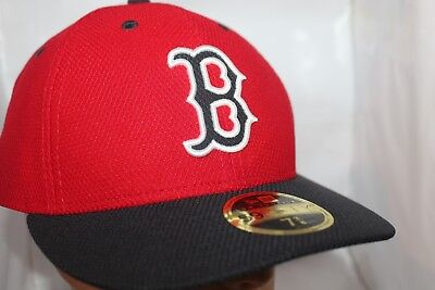 10b50ab7b5645 Boston Red Sox New Era MLB Authentic Collection Low Profile 59fifty