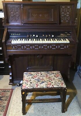 W.W. Kimball Pump Organ - This one is RARE at this Condition! Model# 63390;