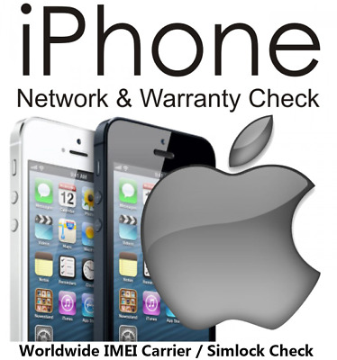 Apple iPhone Network Check Carrier Checker iCloud Status Find My iPhone