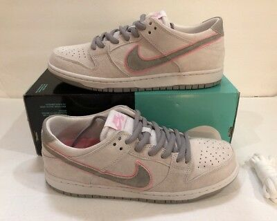 Nike Sb Zoom Dunk Low Pro Iw Ishod Wair White Perfect Pink 895969-160 Size e2d912fb8