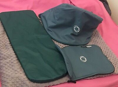 Bugaboo Cameleon 3 Teal Fabric Set (Extendable Hood) would fit Cam 1 and 2