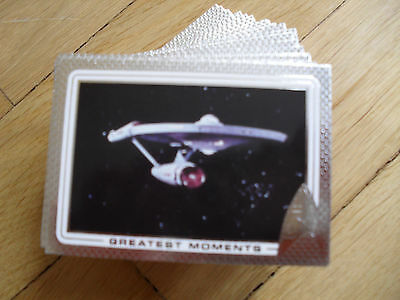 Star Trek 50th Anniversary Trading Card Komplettsatz Rittenhouse (2017)