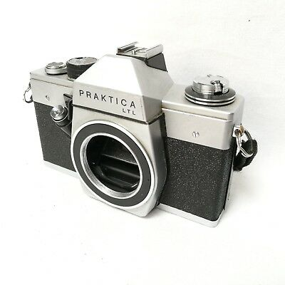 VEB Pentacon Praktica LTL SLR Spiegelreflex 35mm Film Camera Body Only Germany
