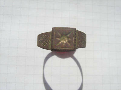 Ancient bronze ring №476