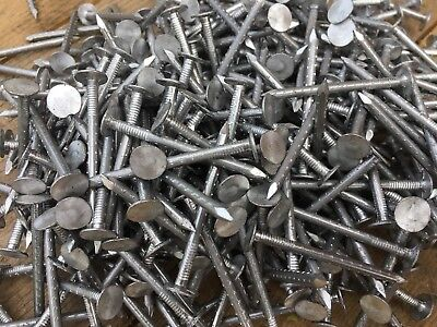 1kg / 1/2  KILO PACKS ALUMINIUM LARGE HEAD CLOUT NAILS ROOFING 30 38 50 55 70mm