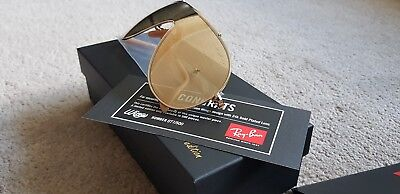 100c1a80a7 RAY BAN WINGS 24K Gold LIMITED EDITION - EUR 1.094