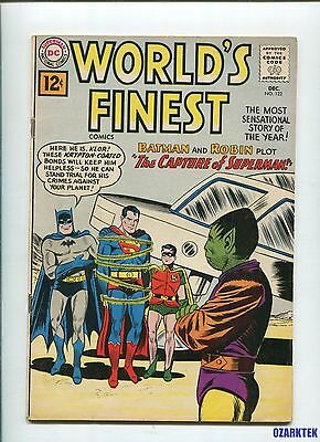 World's Finest #122  1961 DC Comics Superman Batman Robin FN