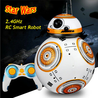 Star Wars BB-8 2.4GHz RC Robot Rmote Control Action Figure Intelligent Toy Gifts
