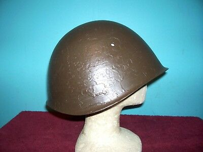 Original Ww Ii Italian Steel Helmet Shell