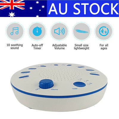 AU Sound Therapy Spa Relaxation Machine Sleep Night White Noise Relaxing 9 Music