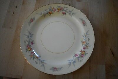 Vintage Homer Laughlin Eggshell Nautilus FERNDALE Salad or Luncheon Plate 1947