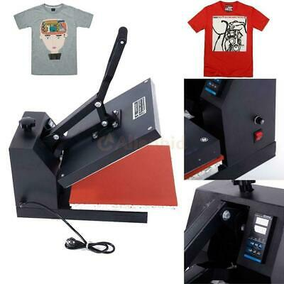 38 x 38 Clam shell Heat Press T-shirt Digital Transfer Sublimation Machine DIY