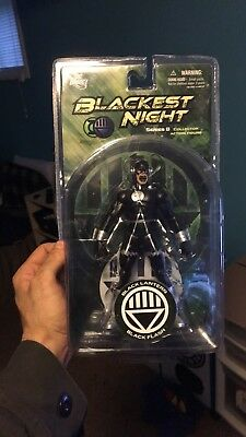 DC Direct Blackest Night Series 8 Black Lantern Flash 7in Action Figure