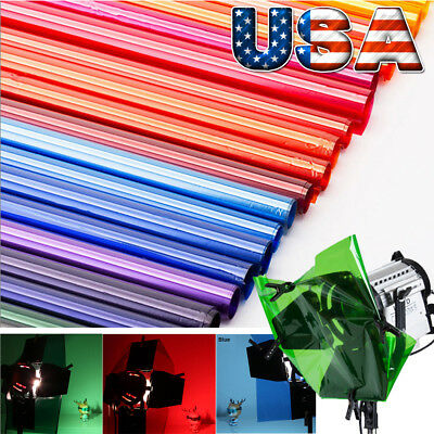 40x50cm Lighting Color Filter paper for Photo Camera Accessories Lamp Gel Sheets