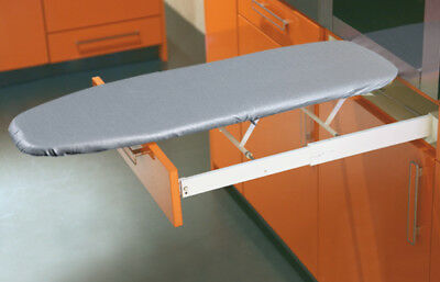 Häfele Ironfix drawer mounted Ironing Board pull or fold out