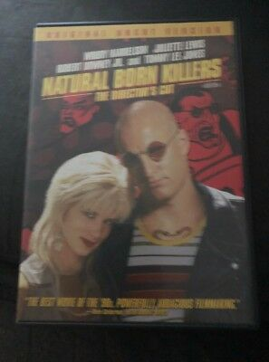 Natural Born Killers The Directors Cut(Two Disc's Plus 44-Page Booklet Like New)