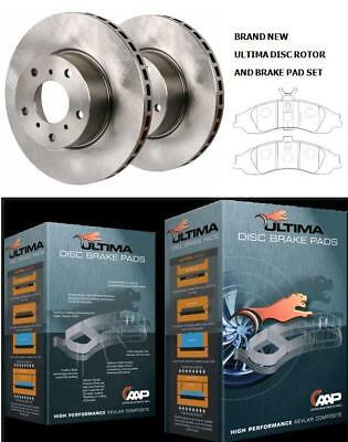New Ultima Front Rotors & Pads Holden Commodore Police Vt Vx Vy Vz 1997-2007