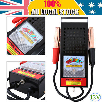 Universal 12V Car  Lead-acid Batteries Tester Auto Vehicle Analyzer 100AMP