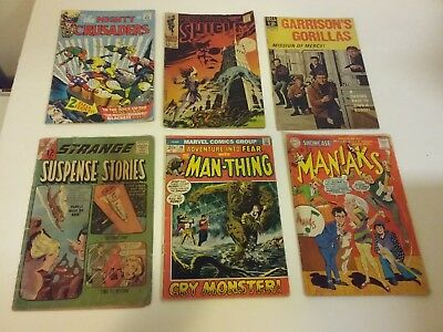 Silver Age Comic Collection Lot Of 36