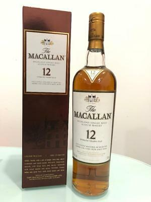 The Macallan 12 Year Old Sherry Matured Single Malt Scotch Whisky (750ml) @ 4...