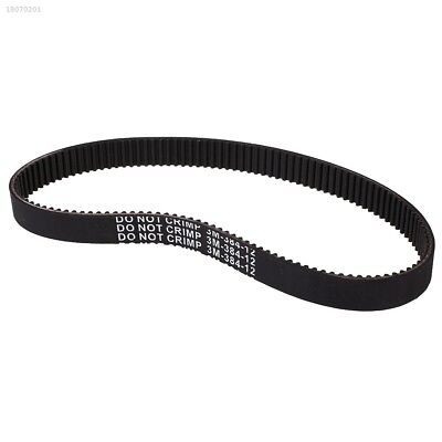 Kids Electric Scooter Drive Belt For E-Scooter Scooters 3M-384-12 Black 157B8DF