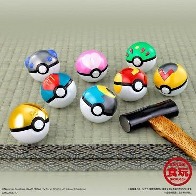 Pokemon Pocket Monster Ball Collection SPECIAL 2 Set of 8 Premium Bandai Limited