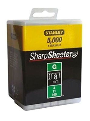 Stanley 1-TRA705-5T 8mm G-Type Heavy Duty Staples (5000 Pieces)