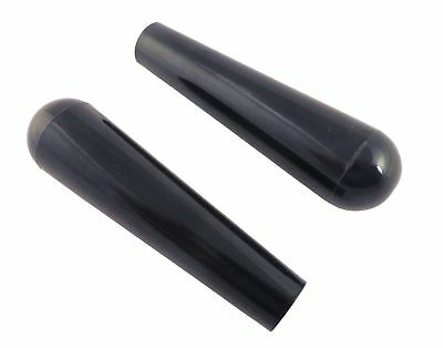 """2 Each 3 3/4"""" Phenolic Tapered Handle Post Knob with 1/4 20 Threaded Insert for"""