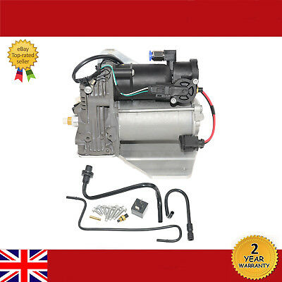 For RANGE ROVER SPORT, LR Discovery3 & 4 Air Suspension Compressor PUMP + Relay