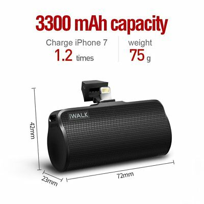 NEW Portable Charger 3300 mAh Power Bank External Battery for iPhone 7 iphone 6S