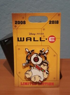 Disney Pixar Wall-E 10th Anniversary Captain B. McCrea Commander of Axiom LE