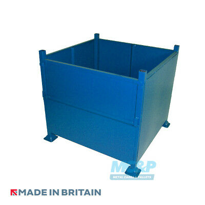 Metal/Steel Heavy Duty Half Drop Front Stillage (Extra Large) - Made in the UK