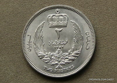 Libya Two Piastres Uncirculated Ripper Coin  World Coin  #d28