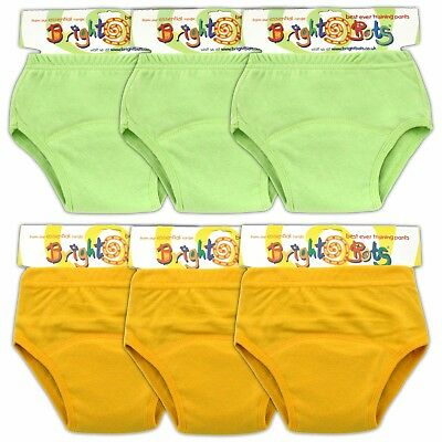 Bright Bots Unisex Washable Potty Training Pants with PUL Lining 5pk Large Approx 24-30m