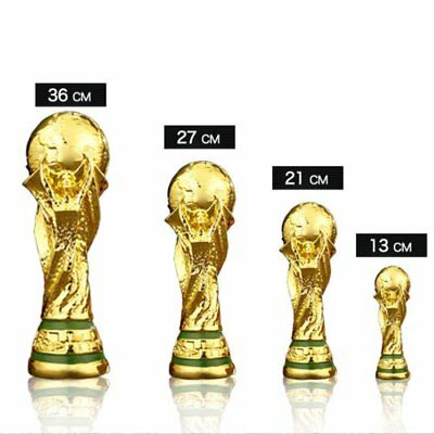 2018 Russia World Cup Trophy Model Souvenir Acrylic Soccer Football Gifts