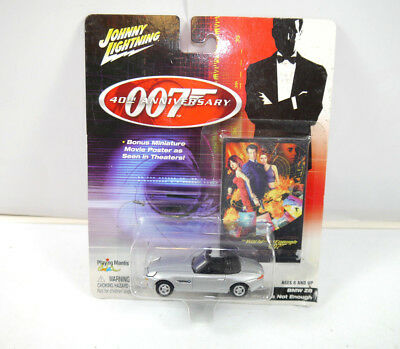 JAMES BOND 007 40th Anniversary : 261-05 BMW Z8 Modellauto JOHNNY LIGHTNING *K45