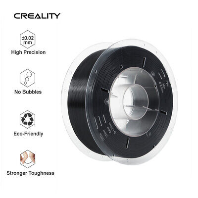 1kg/2.2lb 1.75mm PLA Filament  For Creality 3D Printer Printing Black Net Weight