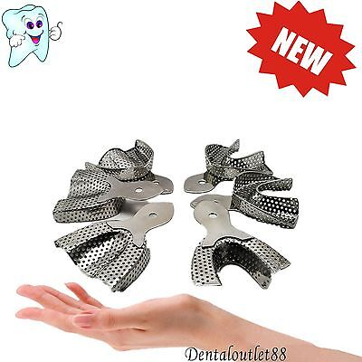 Stainless Steel Anterior Impression Trays Dental Large Middle Small size ca
