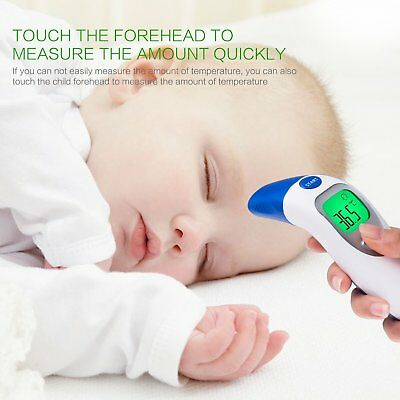 Clinical Thermometer Infrared Contactless FDA Forehead Digital Medical Baby