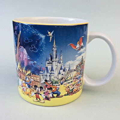 TOKYO DISNEY RESORT MUG Japan Quality Ceramic Story Characters Mickey Mini