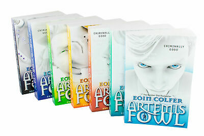 Eoin Colfer Artemis Fowl Collection 7 Books Gift Set, The Arctic Incident