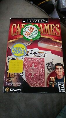 Hoyle Card Games ~ 18 Favorite Games for Mac by Sierra 2003 excellent condition