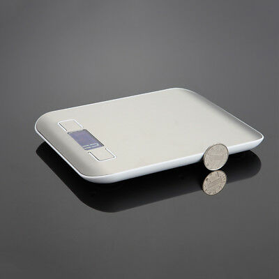 10kg Digital LCD Electronic Weighing Scales Stainless Steel Kitchen Tool Cooking