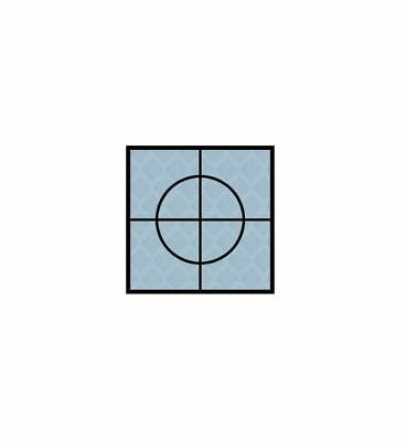 Silver Retro Reflective Targets 20mm,30mm & 40mm Packs Of 20 Surveying Engineer