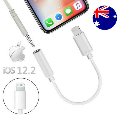lightning to 3.5mm audio Cable aux headphone jack adapter iphone 8 7 x xr xs max
