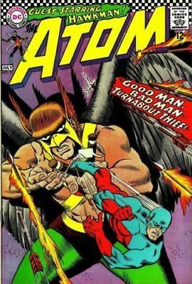 ATOM ISSUE 31 1st SERIES HAWKMAN + FREE FOIL BALLOON DC COMIC 12 CENTS